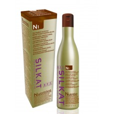 Шампунь для волос BES N1 Silkat Nutritivo питательный для сухих обесцвеченных волос (300мл)