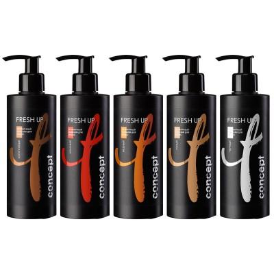 Оттеночный бальзам для волос Fresh up Concept для коричневых оттенков, 250 мл