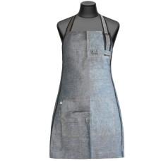 Сарафан серый с открытой спиной из тонкой джинсовой ткани (арт.  МР309 DR)