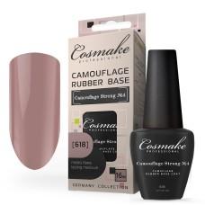 База Коричнево-Розовая (618) Camouflage Strong 16 мл, камуфлирующая Cosmake