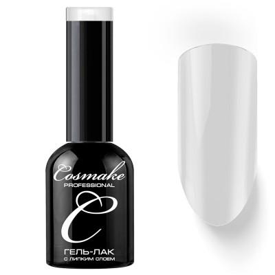 Гель-лак Cosmake №001 с липким слоем 11мл Белый