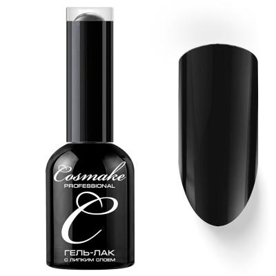 Гель-лак Cosmake №002 с липким слоем 11мл Черный