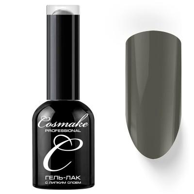 Гель-лак Cosmake №007 с липким слоем 11мл Темно-Серый