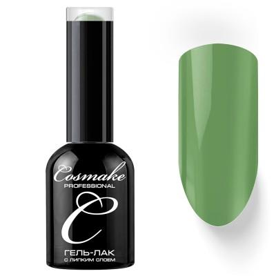 Гель-лак Cosmake №025 с липким слоем 11мл Бледно-Зеленый