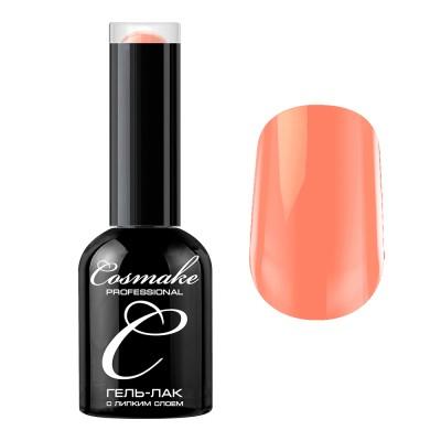 Гель-лак Cosmake №028 с липким слоем 11мл Бледно-Оранжевый
