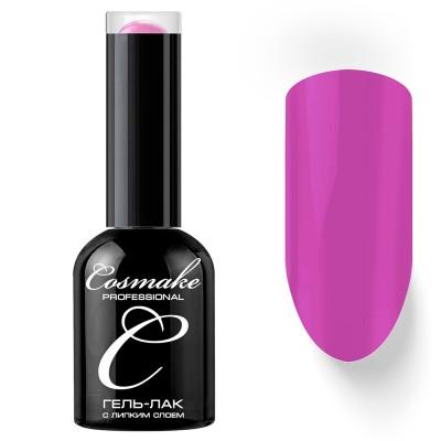 Гель-лак Cosmake №029 с липким слоем 11мл Лилово-Розовый