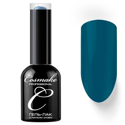 Гель-лак Cosmake №031 с липким слоем 11мл Темно-Голубой