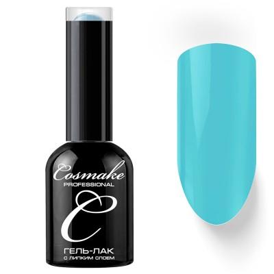 Гель-лак Cosmake №037 с липким слоем 11мл Светло-Голубой
