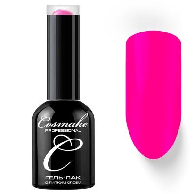 Гель-лак Cosmake №041 с липким слоем 11мл Ярко-Розовый
