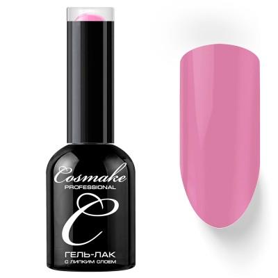 Гель-лак Cosmake №047 с липким слоем 11мл Насыщенный Розовый