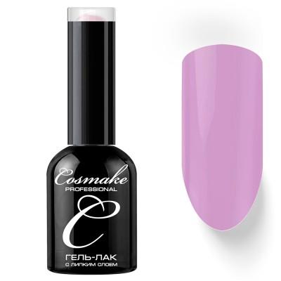 Гель-лак Cosmake №049 с липким слоем 11мл Бело-Розовый