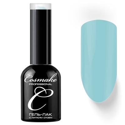 Гель-лак Cosmake №050 с липким слоем 11мл Бледно-Голубой