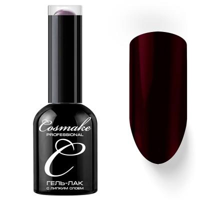 Гель-лак Cosmake №051 с липким слоем 11мл Бордово-Фиолетовый