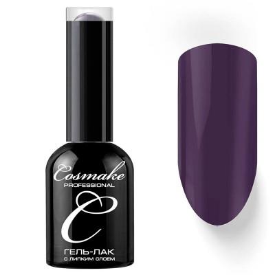 Гель-лак Cosmake №063 с липким слоем 11мл Тёмно-фиолетовый