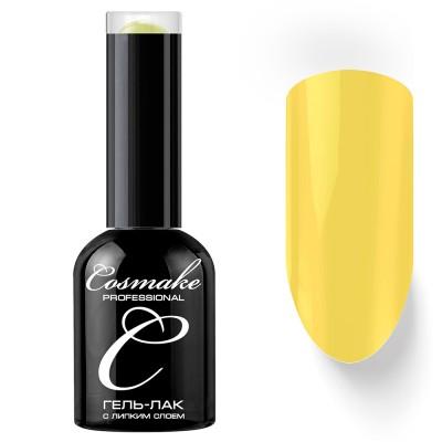 Гель-лак Cosmake №099 с липким слоем 11мл Желтый