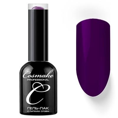 Гель-лак Cosmake №126 с липким слоем 11мл Ярко-Фиолетовый