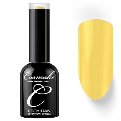Гель-лак Cosmake №24 с липким слоем 11мл Лимонный