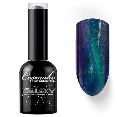 Гель-лак Кошачий глаз Галактика Cosmake №31 Фиолетовый 11мл.