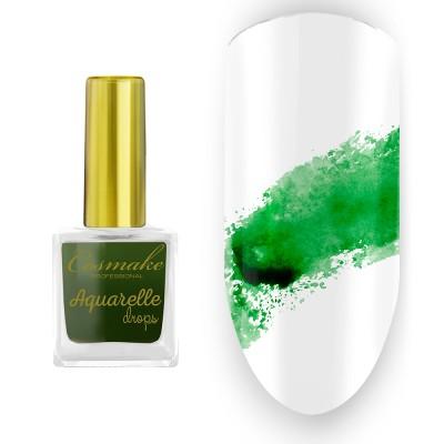 05 Краска Aquarelle Drops Изумруд Cosmake 9 мл