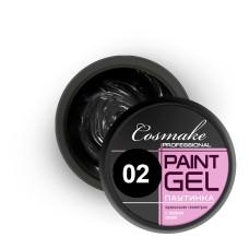 Гель-краска Паутинка 5г Чёрная Cosmake (002)