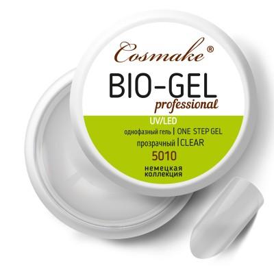Гель Bio прозрачный для укрепления Cosmake 15 гр LED/УФ (5010)