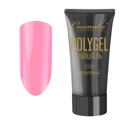 Полигель нежно-розовый 60 мл Cosmake (06)