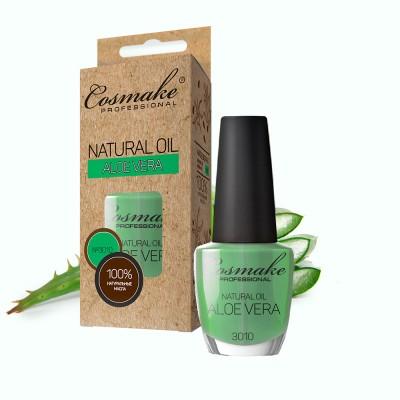 Масло Алоэ для ногтей и кутикулы натуральное 16 мл Cosmake 3010