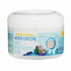 Маска для лица ночная УВЛАЖНЕНИЕ Water Coating Aqua Brightening Mask, 100 мл, [Elizavecca]