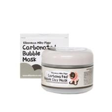 Маска для лица очищающая ПУЗЫРЬКОВАЯ с глиной Сarbonate Bubble Clay Mask, 100 мл, [Elizavecca]