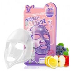 Тканевая маска для лица Фруктовая FRUITS DEEP POWER Ringer mask pack, 23 мл, [Elizavecca]