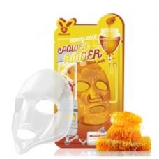 Тканевая маска для лица Медовая Honey DEEP POWER Ringer mask pack, 23 мл, [Elizavecca]