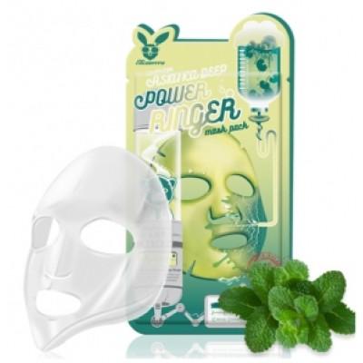 [Elizavecca] Тканевая маска д/лица с Центеллой CENTELLA ASIATICA DEEP POWER Ringer mask pack, мл