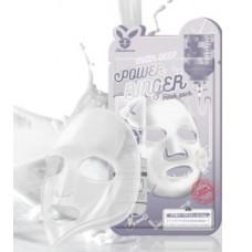 Тканевая маска для лица с Молоком MILK DEEP POWER Ringer mask pack, 23 мл, [Elizavecca]