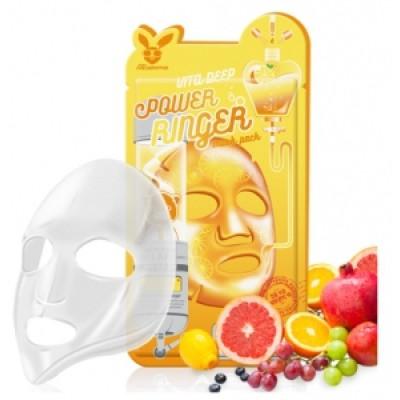 [Elizavecca] Тканевая маска д/лица с Витаминами VITA DEEP POWER Ringer mask pack, 23 мл