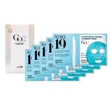 Маска-активат. КАРБОКСИТЕРАПИЯ/ПАУЧ SECRET19 CO2 Esthetic Formula Carbonic Mask,5 шт, [ESTHETIC HOUSE]