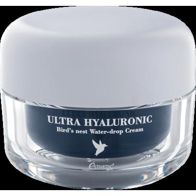 [ESTHETIC HOUSE] ЛАСТОЧКА/ГИАЛУРОН Крем для лица Ultra Hyaluronic acid Bird's nest Water- drop Cream