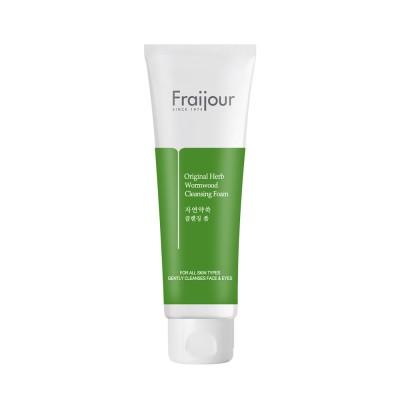 [Fraijour] Пенка для умывания Original Herb Wormwood Cleansing Foam, 150 мл