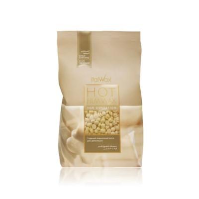 """ItalWax Воск """"Белый Шоколад"""" для депиляции в гранулах 1кг, Италия"""