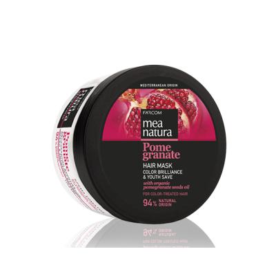 Маска с маслом граната для окрашенных волос Farcom MEA NATURA Pomegranate, 250ml