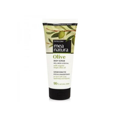 Скраб для тела с оливковым маслом Farcom MEA NATURA Olive, 200ml