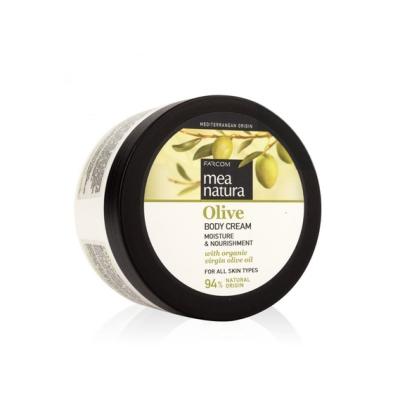 Увлажняющий и питательный крем для тела с оливковым маслом Farcom MEA NATURA Olive, 250ml
