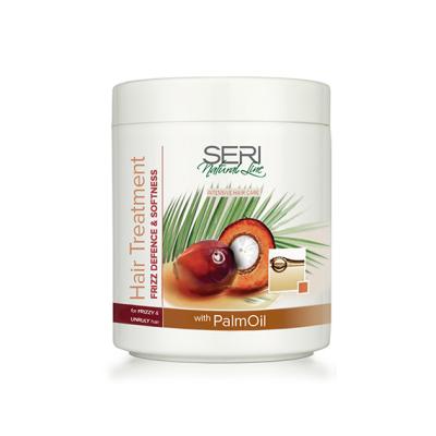 Маска для нормальных и сухих волос с пальмовым маслом Мгновенное оживление и смягчение Farcom Professional Seri Natural Line, 1000ml