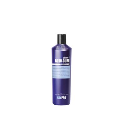 Реконструирующий шампунь с растительными пептидами для сильно поврежденных  и склонных к ломкости волос  KAYPRO BOTU-CURE, 1000 ml