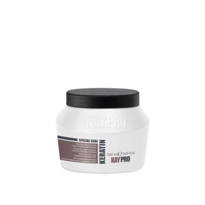 Реструктурирующая маска с кератином для химически поврежденных волос KAYPRO KERATIN, 500 ml
