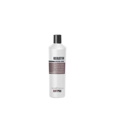 Реструктурирующий шампунь с кератином для химически поврежденных волос KAYPRO KERATIN, 1000 ml