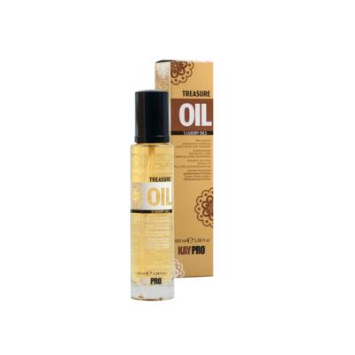 Масло для увлажнения сухих, хрупких и обезвоженных волос KAYPRO TREASURE OIL 5 LUXURY OILS, 100ml