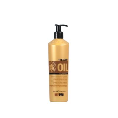 Увлажняющий и придающий блеск кондиционер для сухих, хрупких и обезвоженных волос KAYPRO TREASURE OIL 5 LUXURY OILS, 350ml