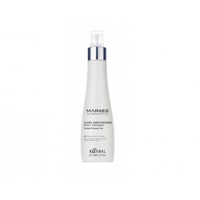 Восстанавливающий несмываемый спрей для прямых поврежденных волос Kaaral MARAES SLEEK EMPOWERING SPRAY TREAT, 150ml