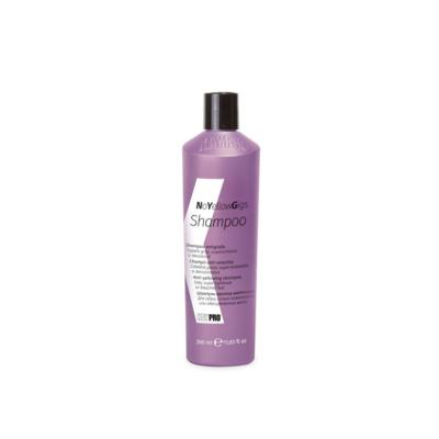 Шампунь против желтизны для седых, сильно осветленных или обесцвеченных волос KAYPRO No Yellow Gigs, 1000 ml