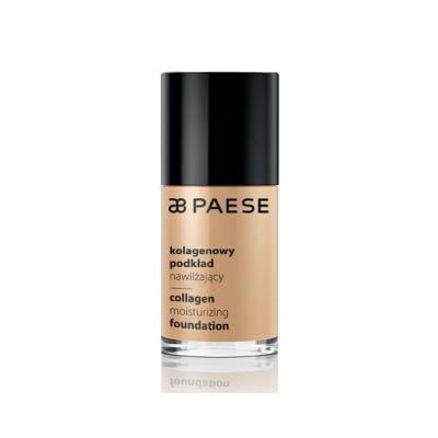 PAESE Collagen moisturizing foundation Увлажняющая тональная основа с коллагеном, 30ml